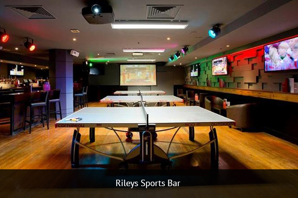 RILEYS SPORTS BAR |   +44 20 7930 0393    Rileys Sports Bar is considered by many as the best place to watch football in London. The biggest bar in London with over 35 TVs, Rileys allows supporters to enjoy the game from almost every angle.   Address:  80 Haymarket, London SW1Y 4TE