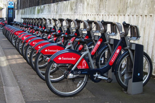 CYCLING  London's public bicycle scheme is a great way to travel around the city. London's public bike sharing scheme is available 24/7, 365 days a year. Bikes can be hired by the day, week or month.
