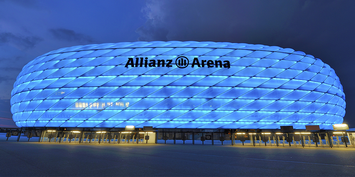 Watch a game at the Allianz Arena