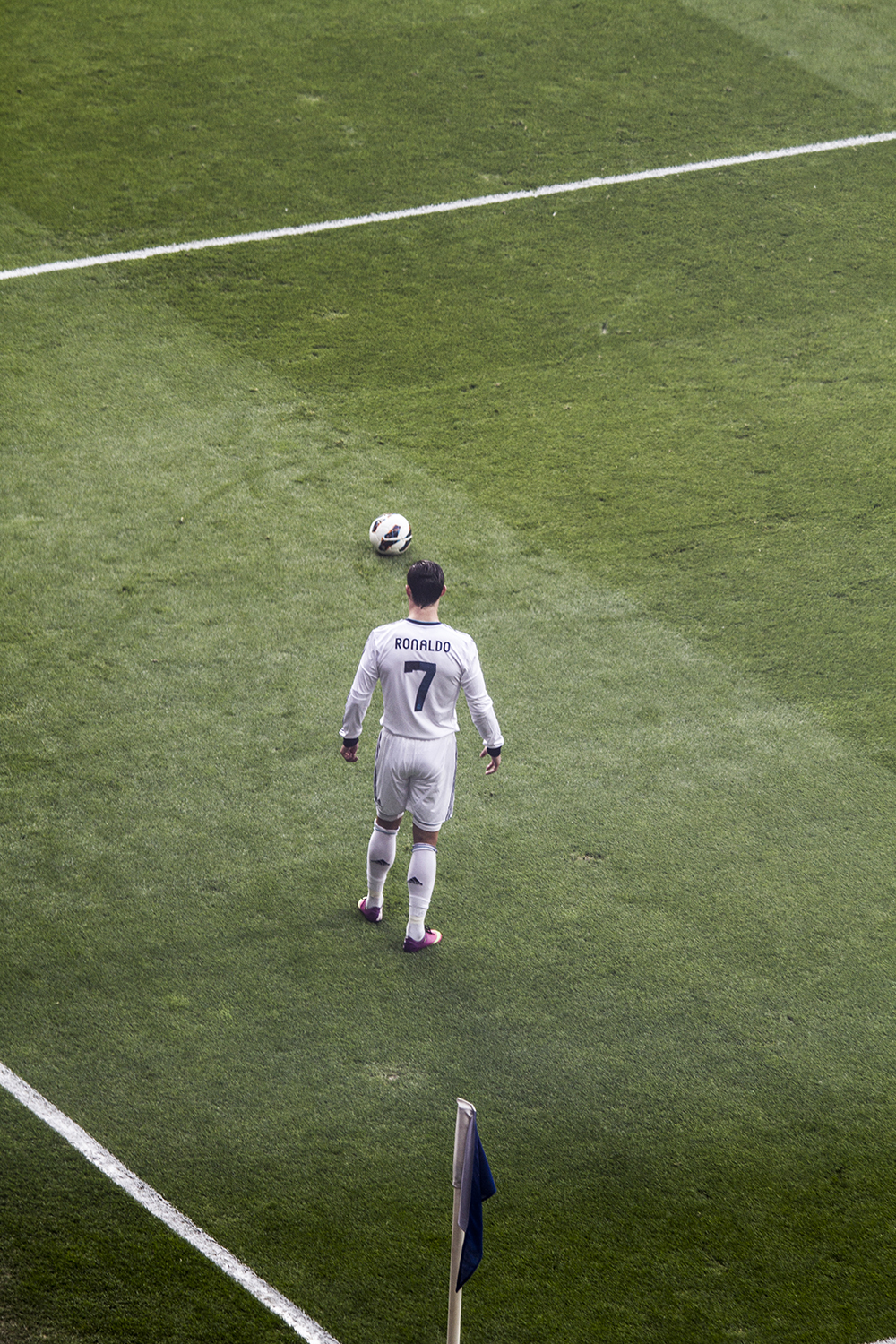 Pretty cool view of CR7.