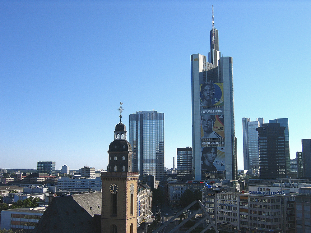 Touring the cities of Frankfurt and Mainz.