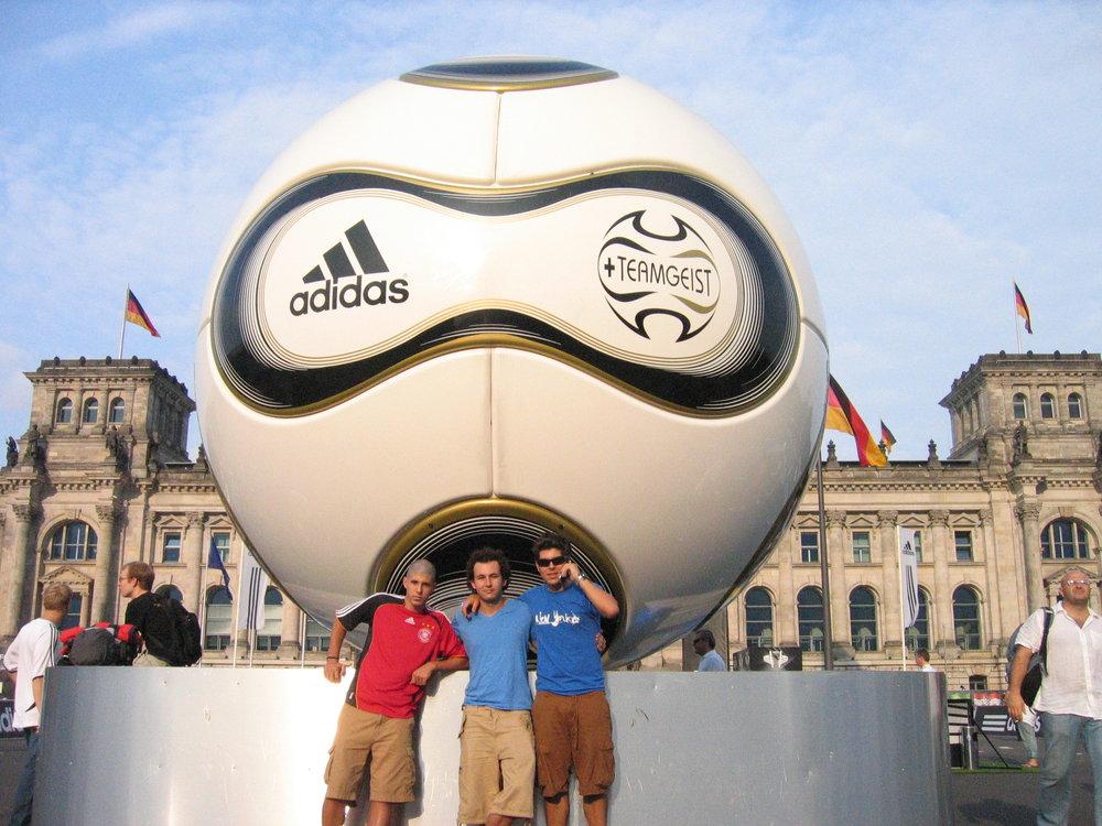 En Berlin, para la final de la copa del mundo Alemania 2006.