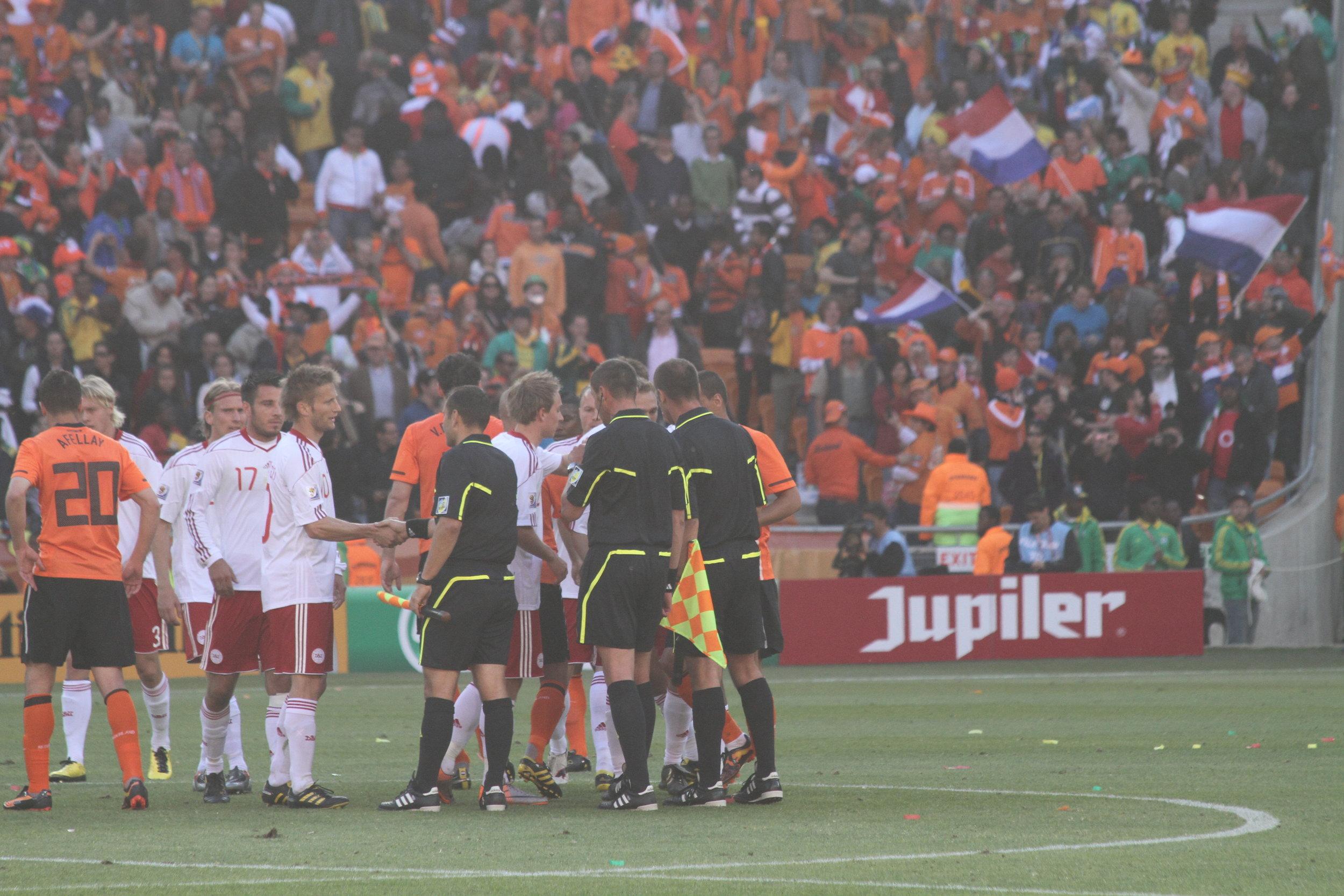 Final score: Netherlands 2 - Denmark 0