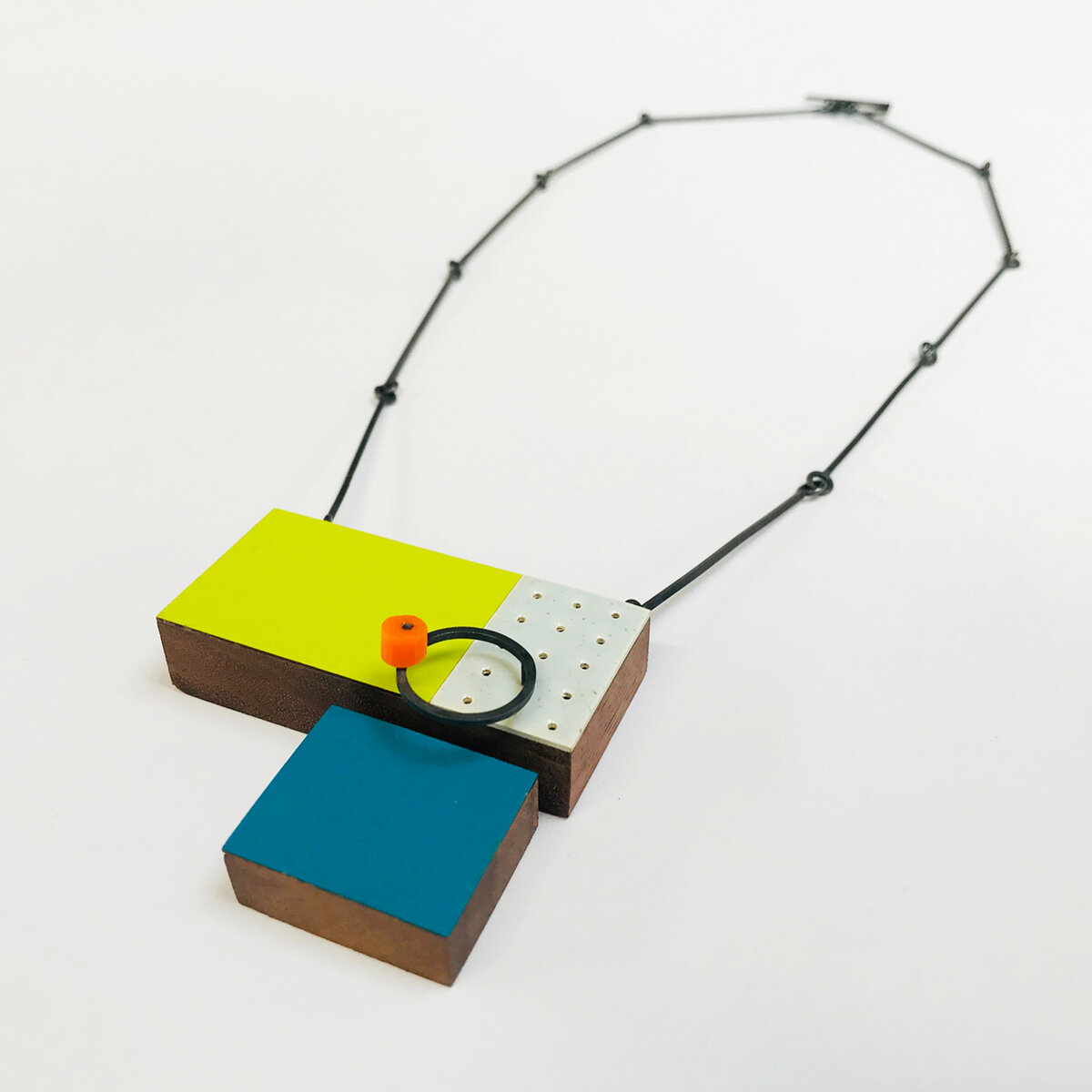 Lime and Turquoise Composition Necklace.jpg