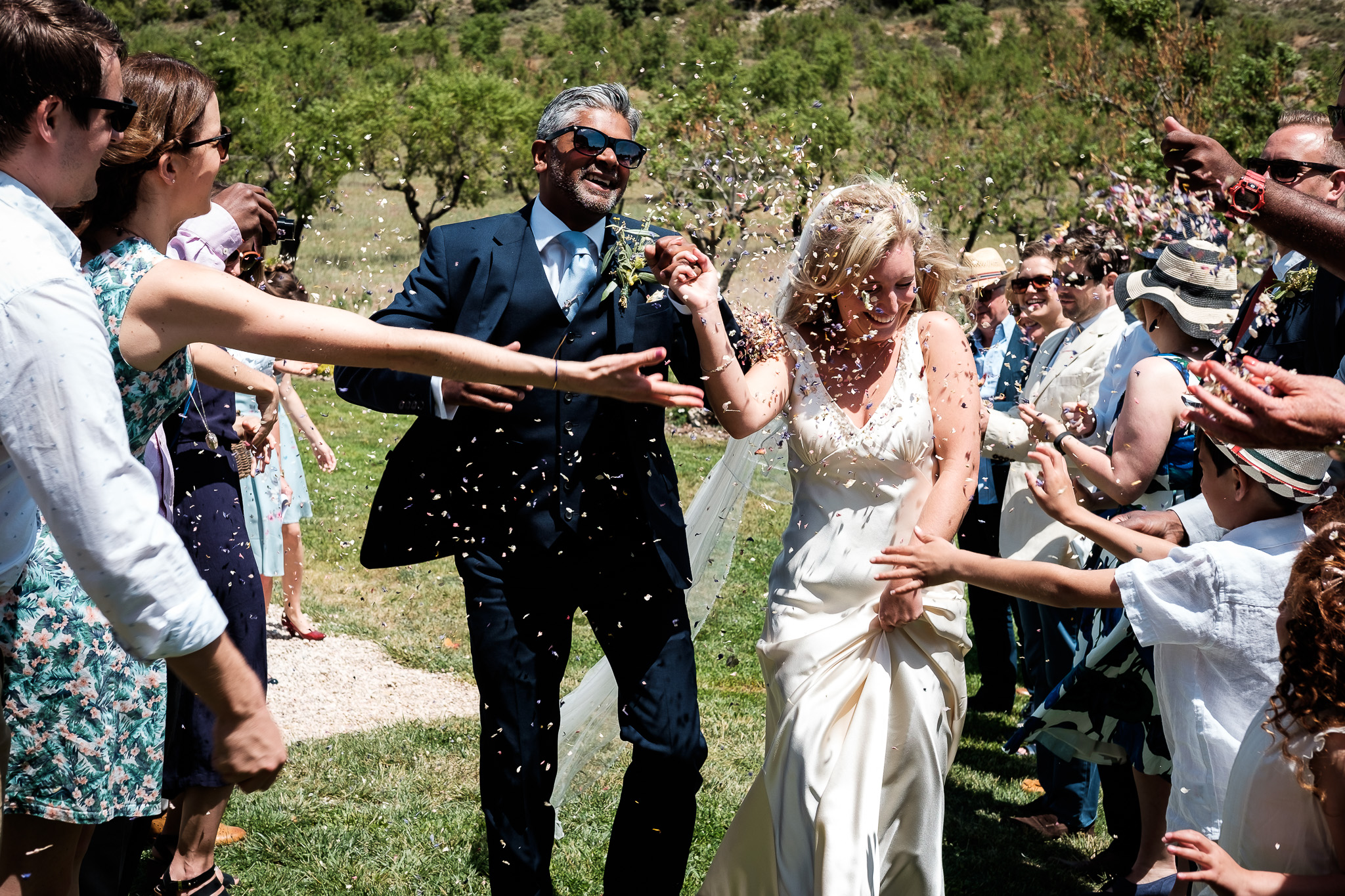 Charlotte and Hitesh - Mas De La Serra, Aragon, Spain