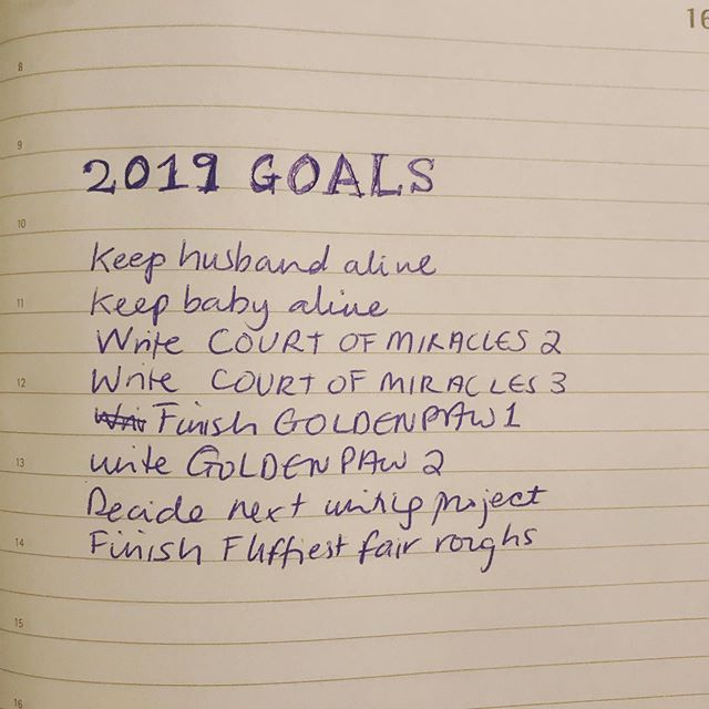 Writing & life goals
