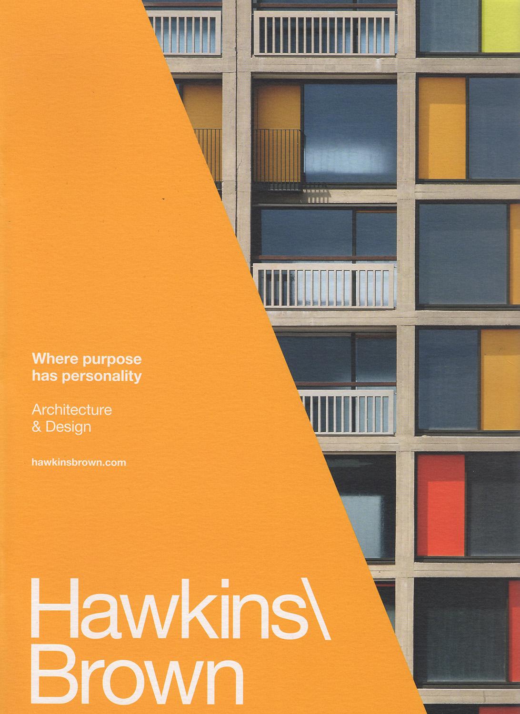 - Hawkins Brown Brochure, 2016Park Hill, Sheffield