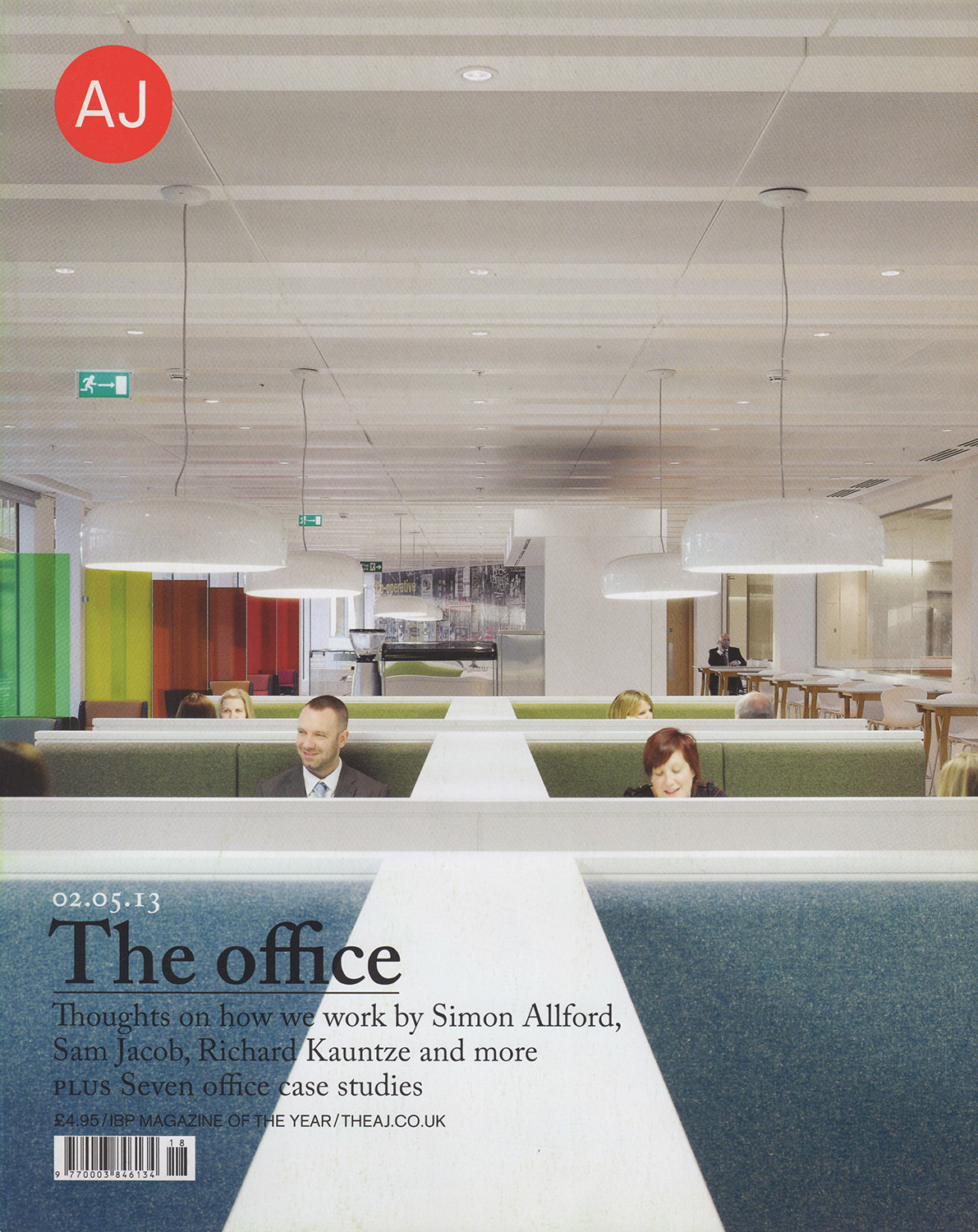 - Architects' Journal, May 2013One Angel Square, 3DReid