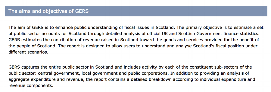 Scottish Government, http://www.gov.scot/gers, retrieved 31 March 2017
