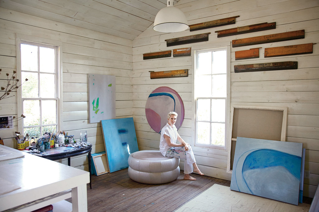 Hable in her Athens, Ga., studio. Credit Rich Gilligan. Photo assistant: Richard Wade