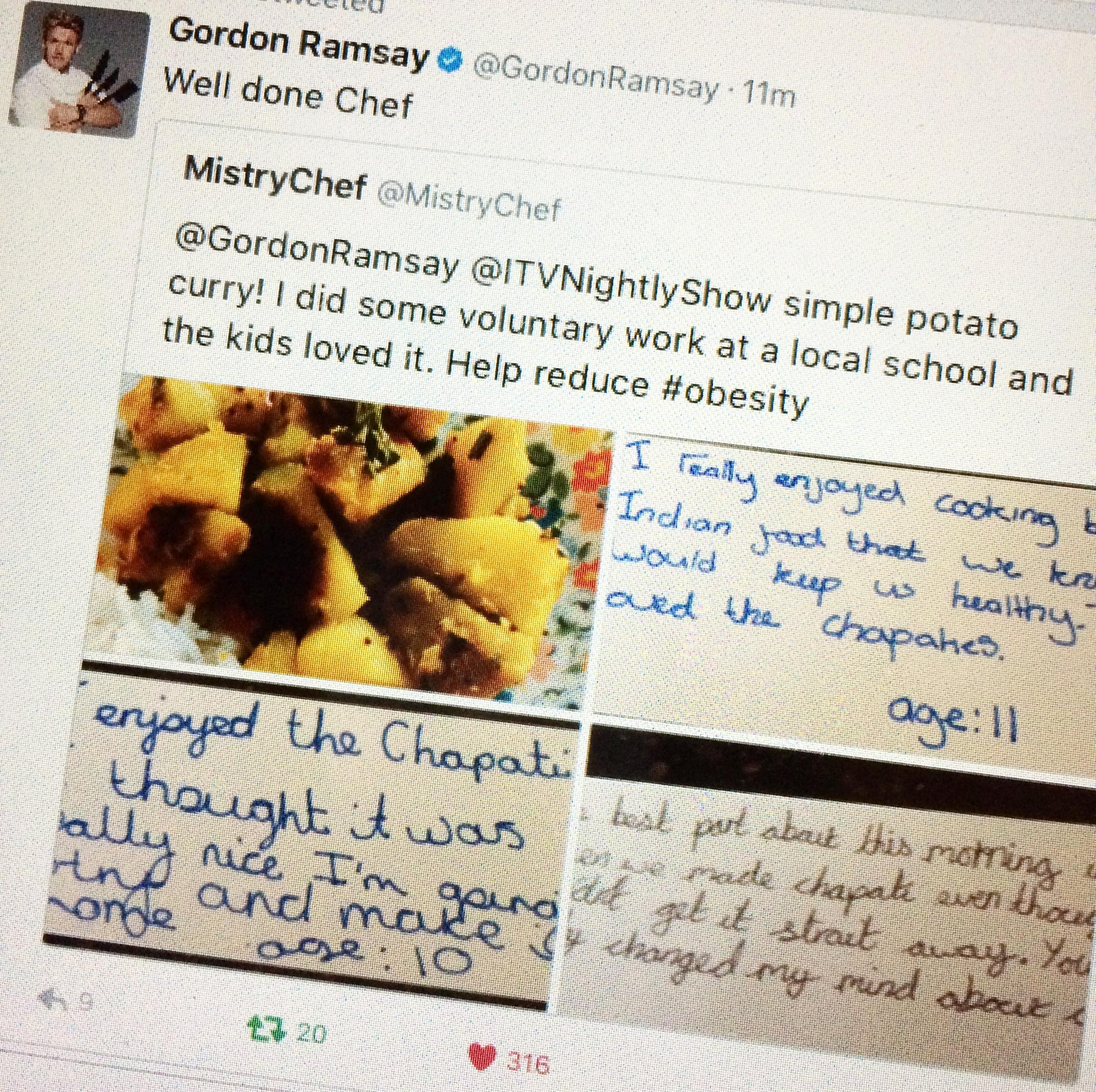 Gordon Ramsay - A 'profanity free' tweet!