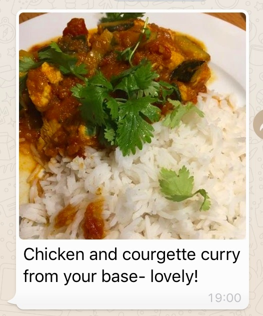 Satisfied client who tried a Curry Pack for the first time.