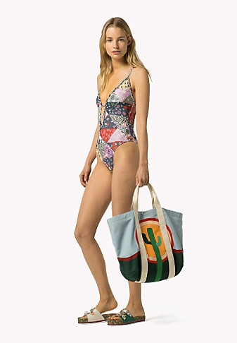 Patchwork swimsuit €230
