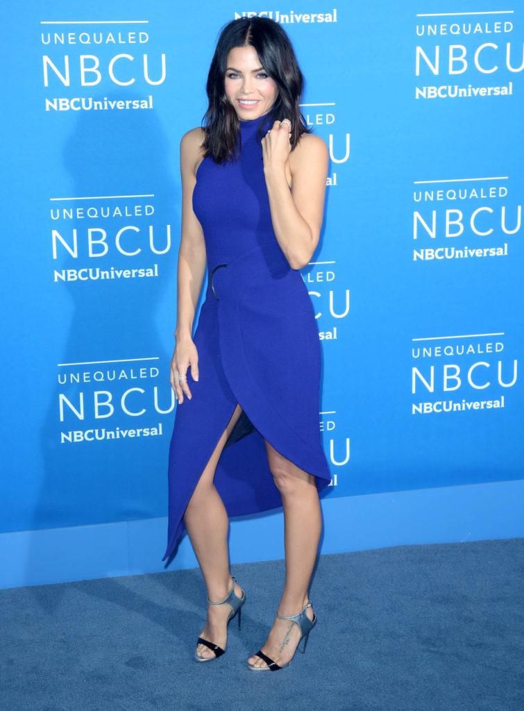 Jenna Dewan wearing David Koma