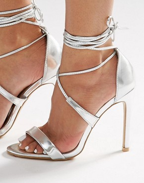 True Decadence ankle tie sandals €37.84 (my are rose gold)