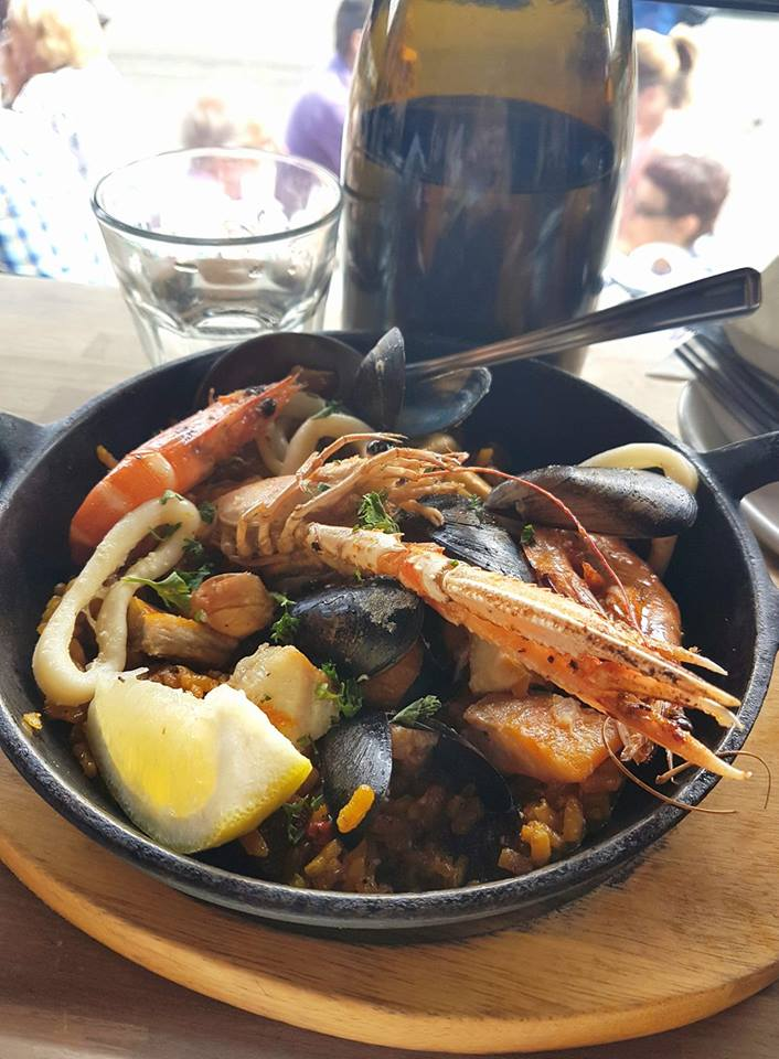 Paella from Octopussys