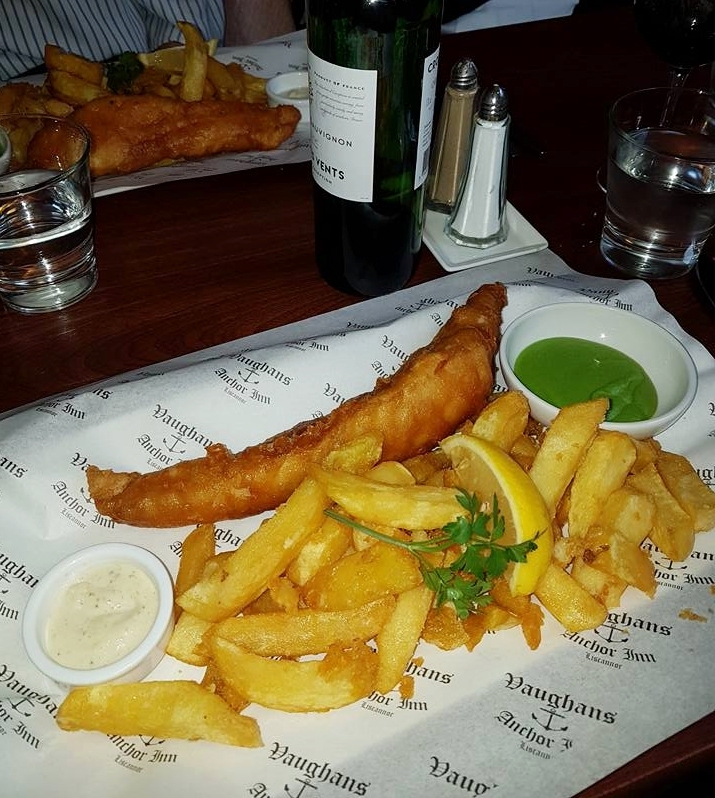 Fish and Chips at Vaughans