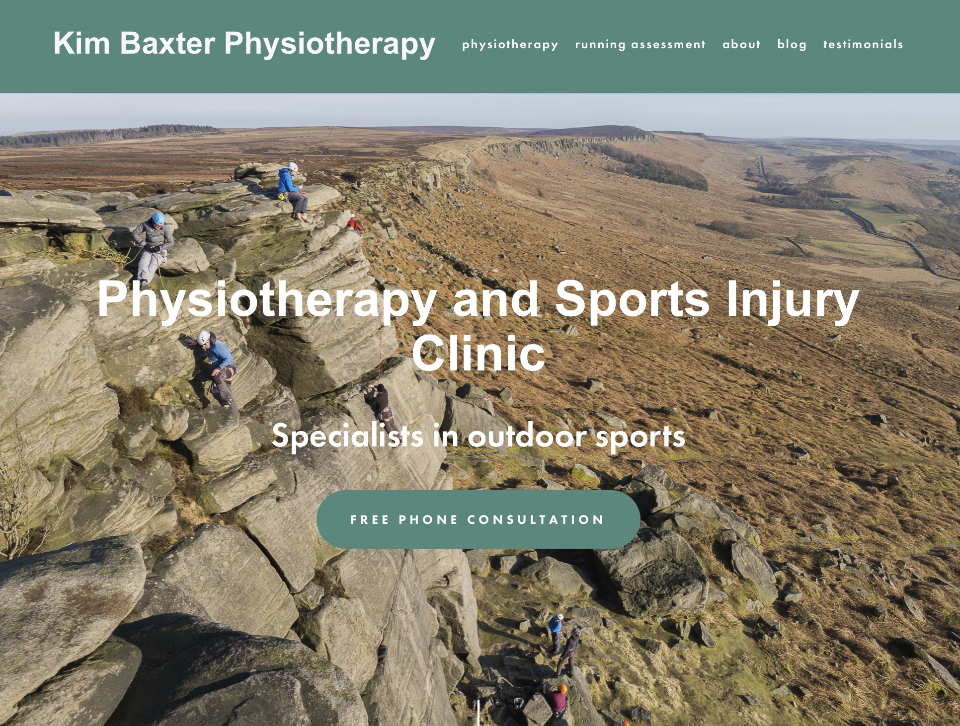 Kim Baxter - Kim wanted a new site with a more modern feel. The key requirement were that it would work well on mobiles, and would also convey the key messages for her physiotherapy business without the content becoming too lengthy. I used Squarespace to build the site and focused the content on the key questions that a new client would have.