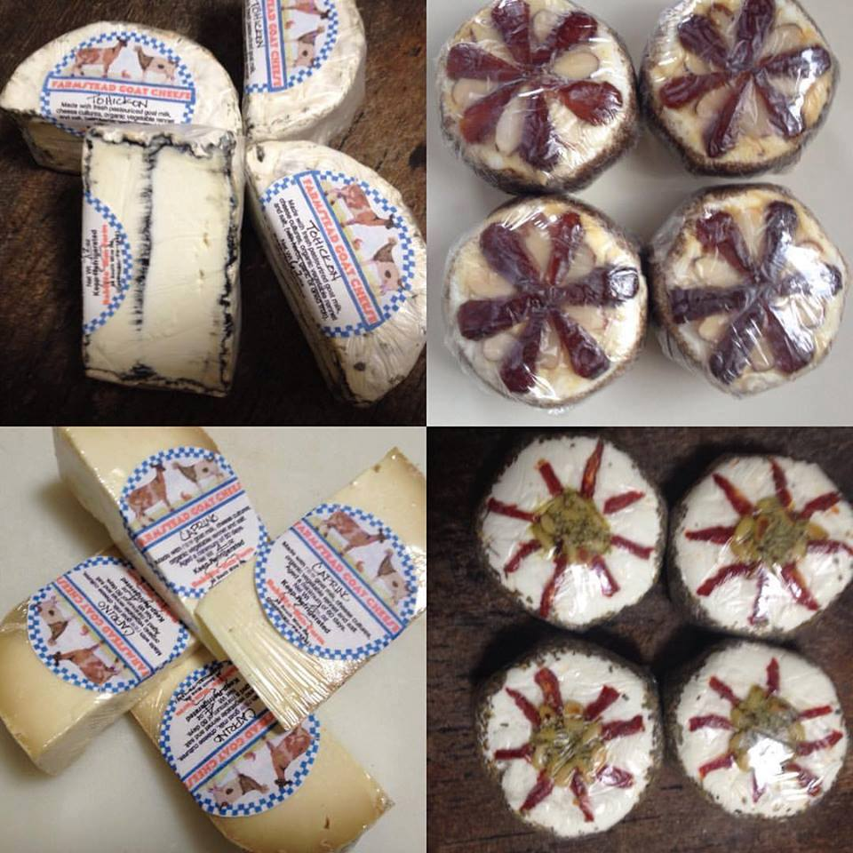 Rabbits' Run - Many decorative, aged, and fresh varieties of farmstead goat cheeses produced on farm in Quakertown along with certified organic vegetables