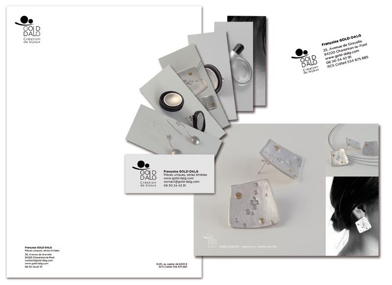 Logotype / Cartes de visite / papeterie / tampon / photographies / site internet