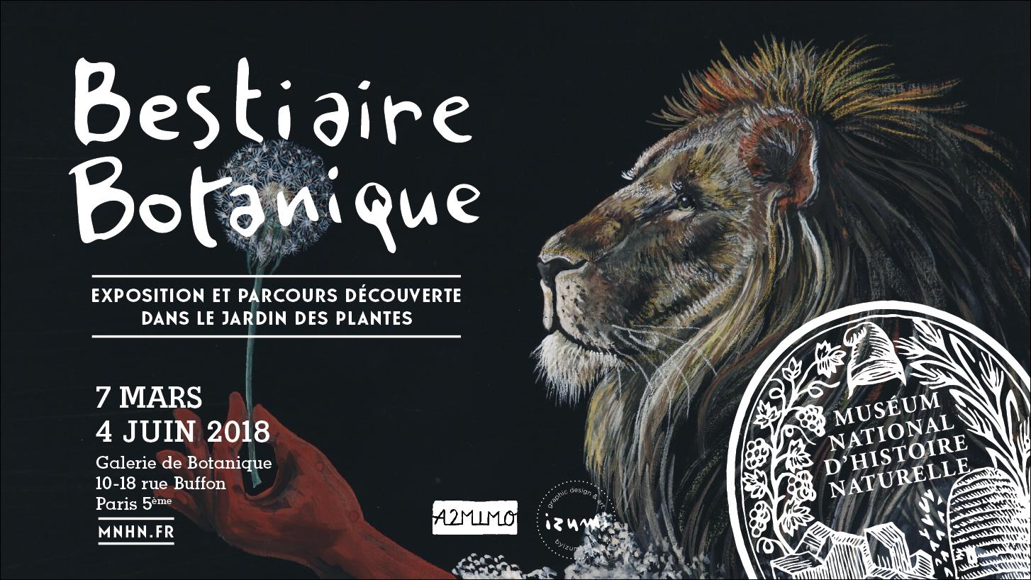 LOCATION DE L'EXPOSITIONBESTIAIRE BOTANIQUE - Par Izumi Mattei-Cazalis et les éditions A2MIMO