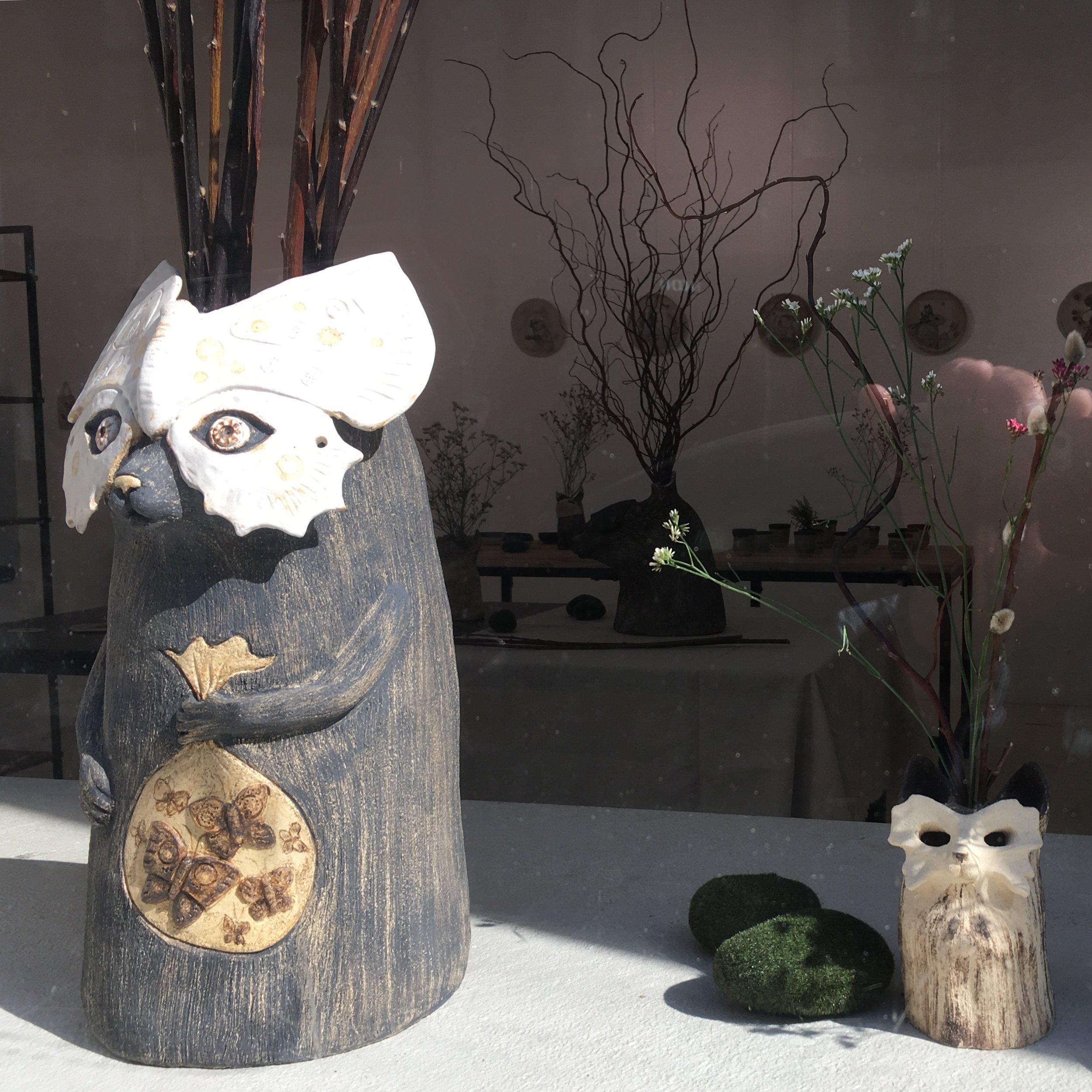 Retrouvez mes céramiques à la Sway Gallery - 18-20 RUE DE THORIGNYPARIS 75003