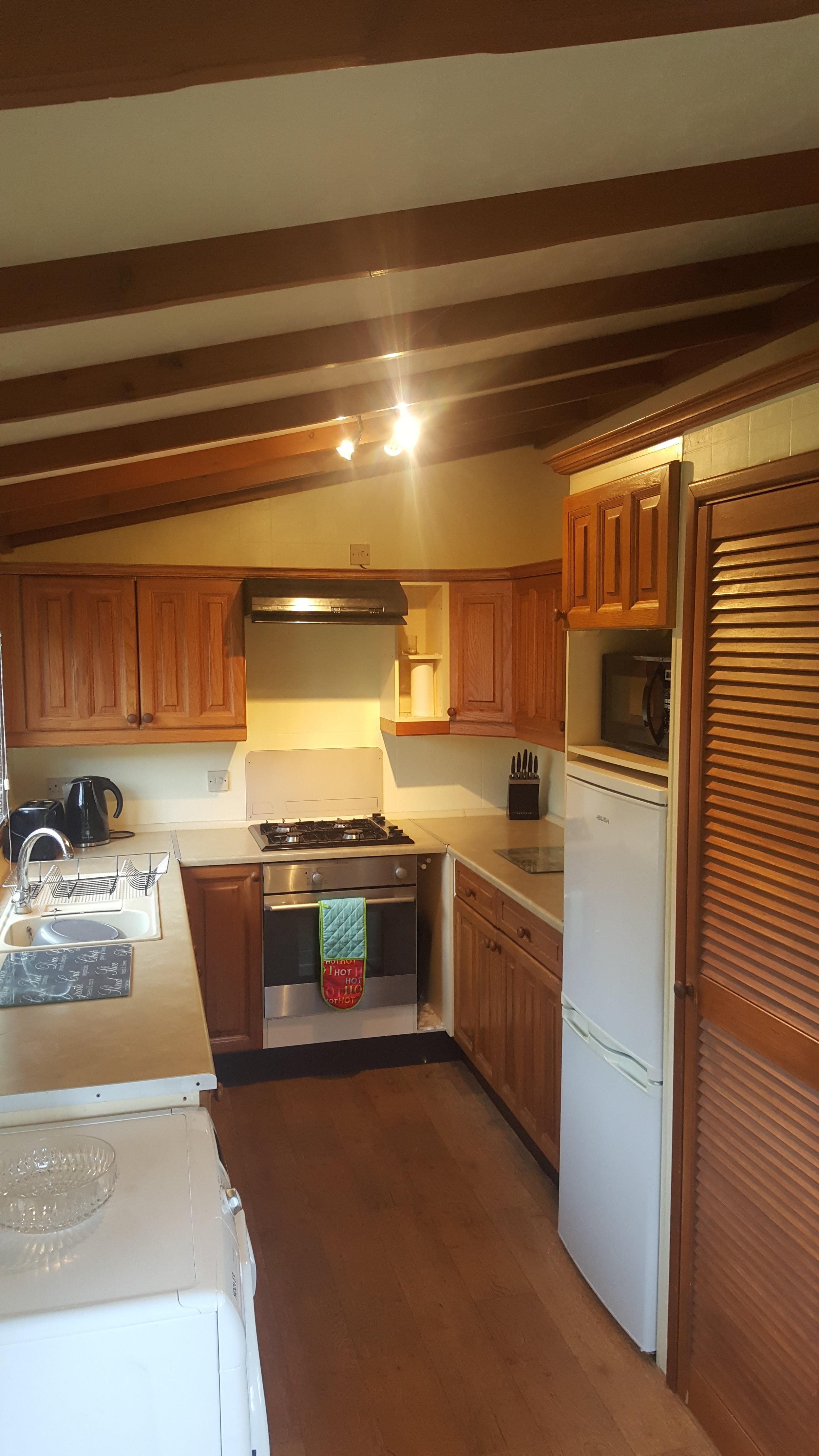Kitchen - Lodge Lorton Vale Caravans lortonvalecaravans.co.uk