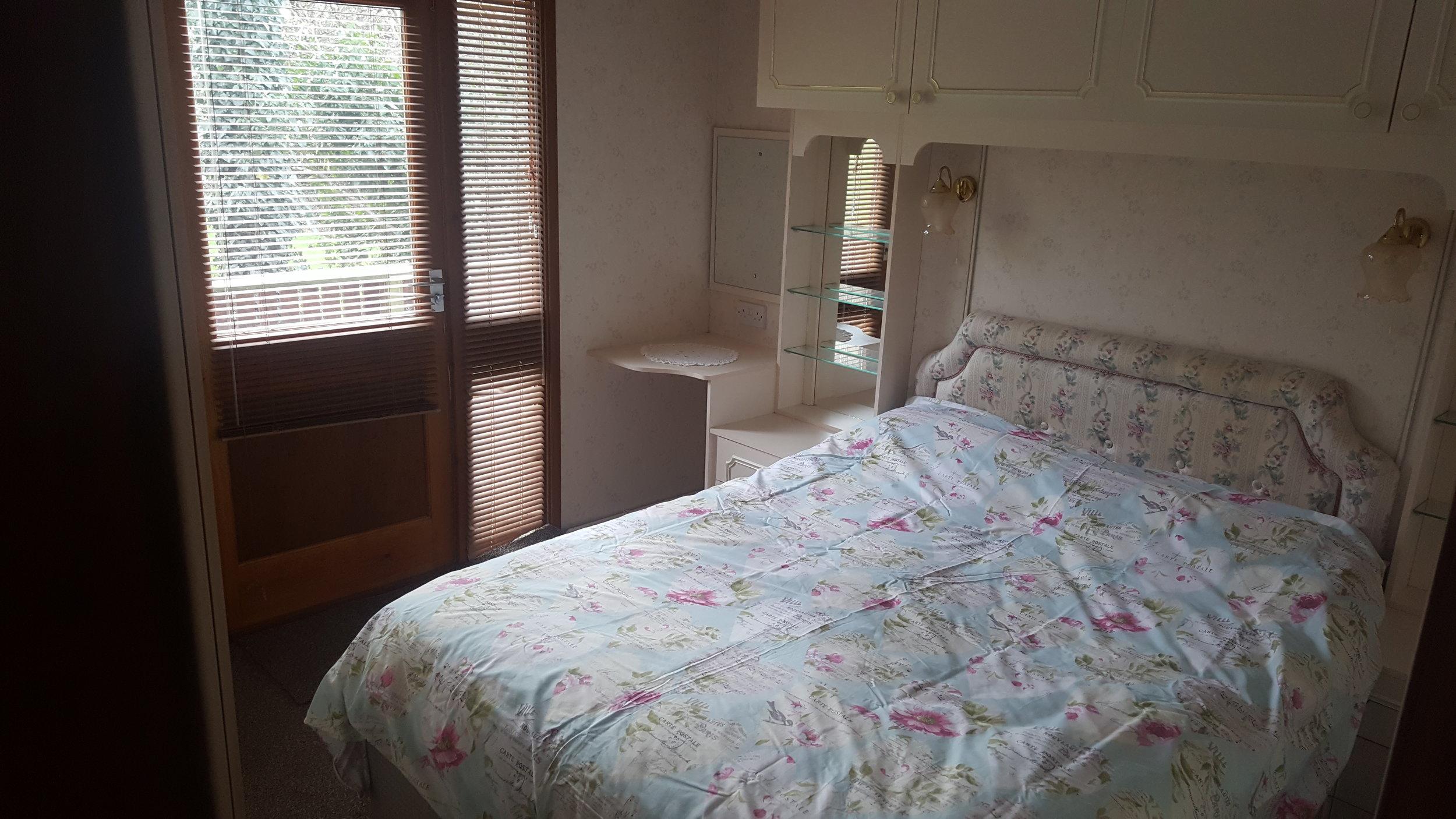 Double bedroom - Lodge Lorton Vale Caravans lortonvalecaravans.co.uk