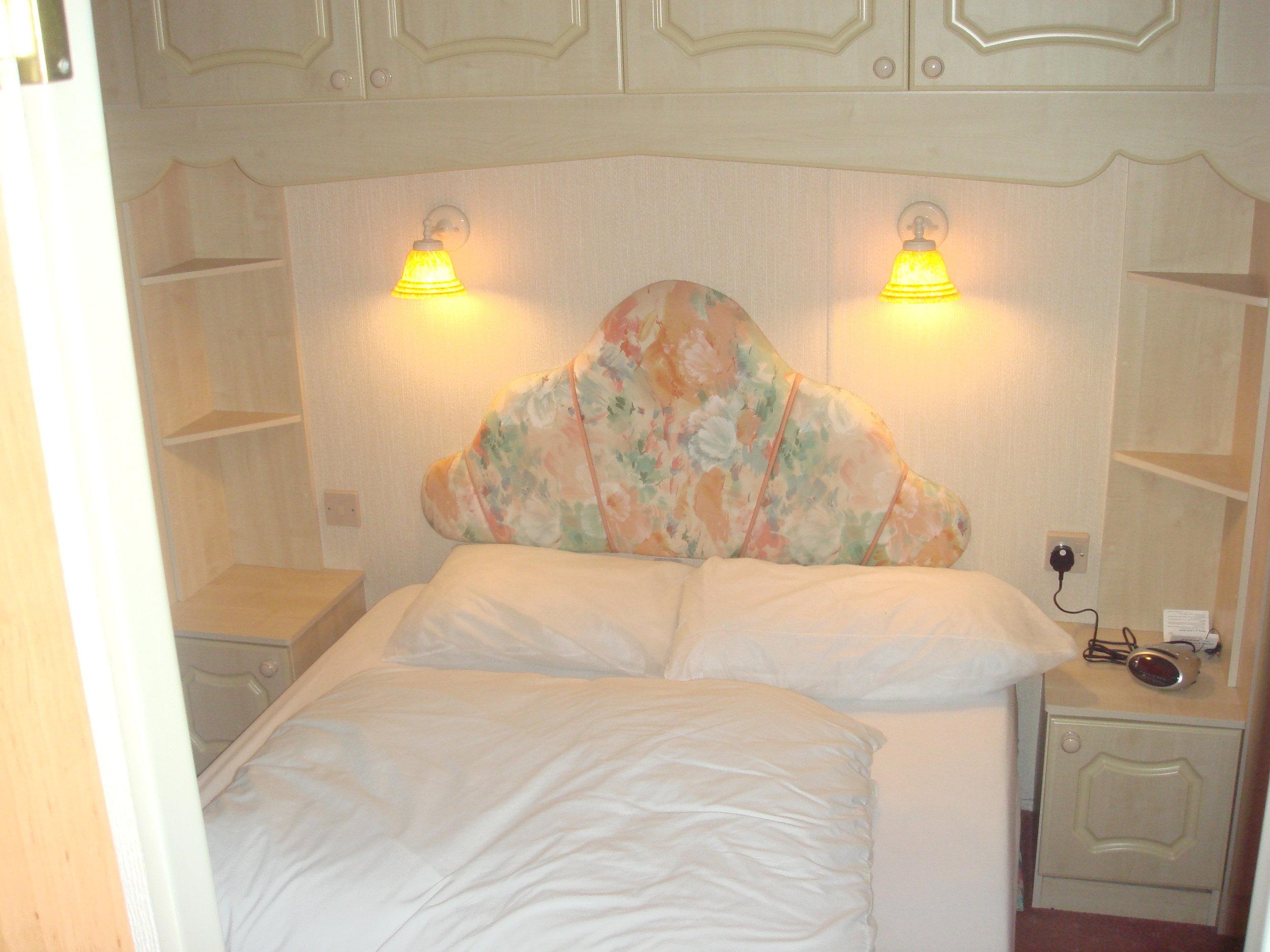 Double Bedroom - Caravan 1 Lorton Vale Caravans lortonvalecaravans.co.uk