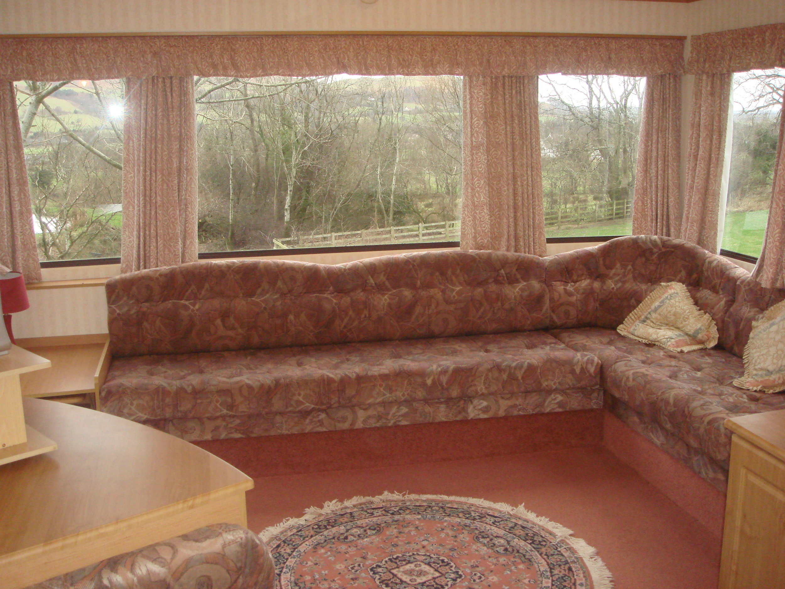 Living Room - Caravan 2 Lorton Vale Caravans lortonvalecaravans.co.uk