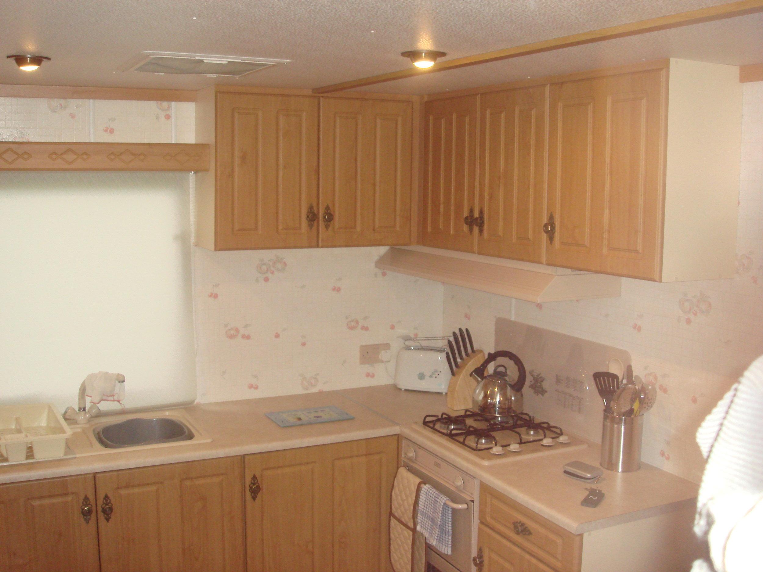 Kitchen - Caravan 2 Lorton Vale Caravans lortonvalecaravans.co.uk