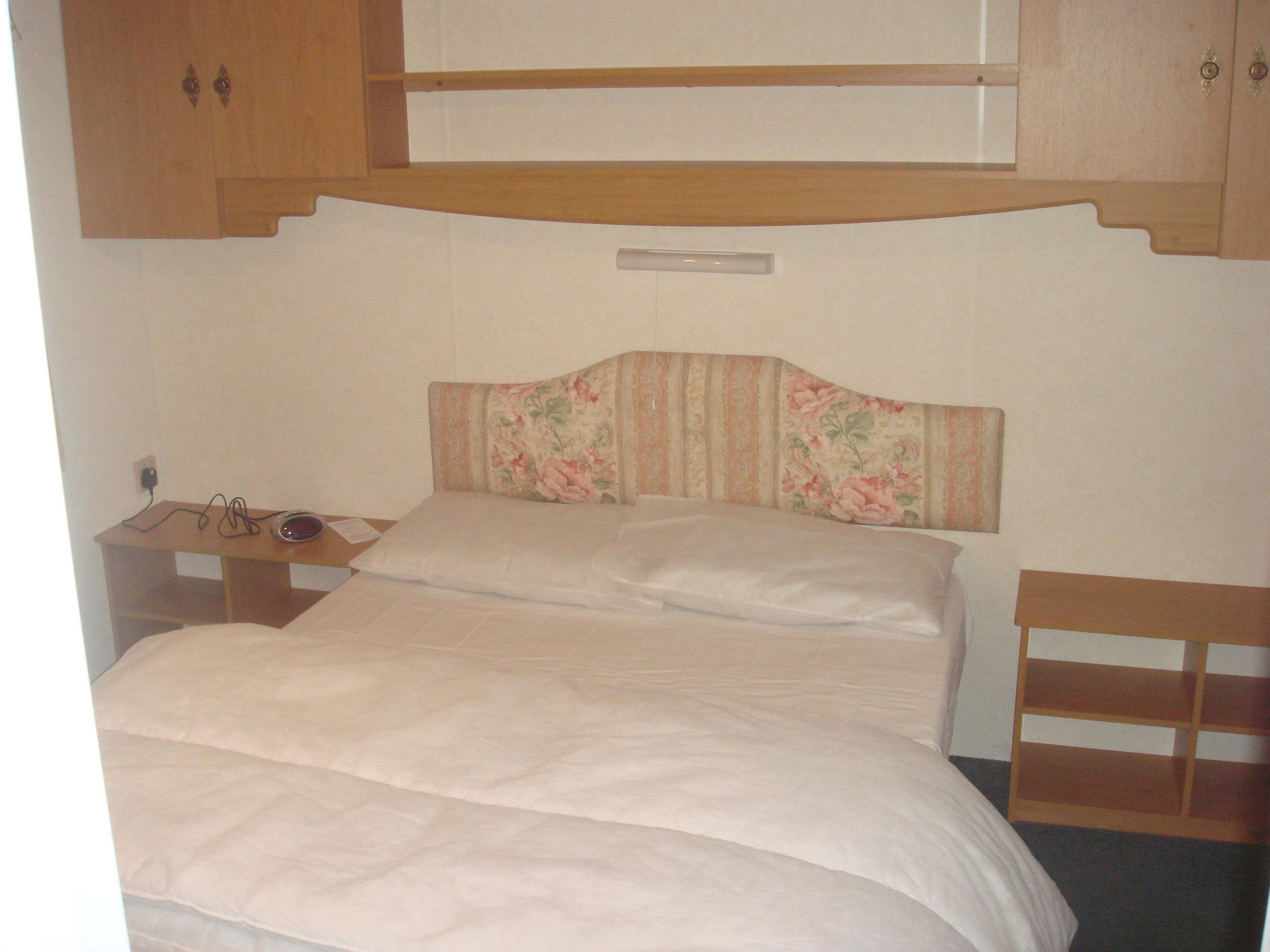 Double bedroom - Caravan 2 Lorton Vale Caravans lortonvalecaravans.co.uk