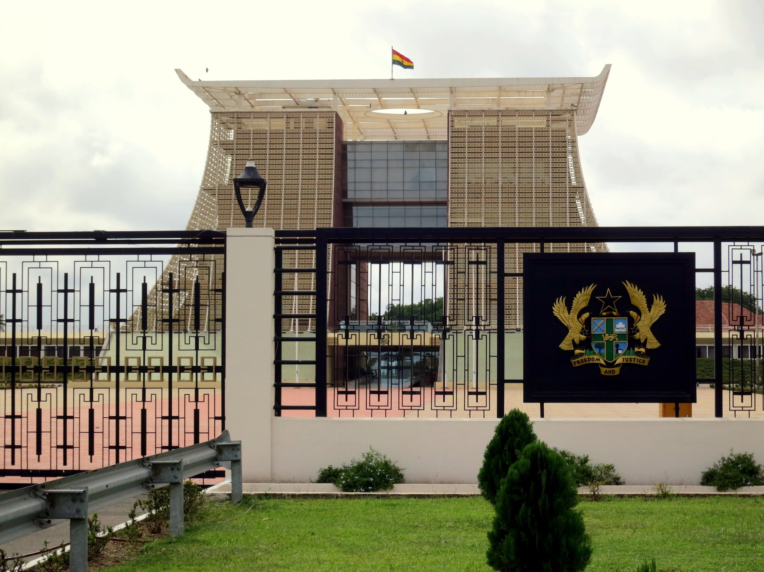 Pictured: Flagstaff House, Accra | Seat of Ghanaian government