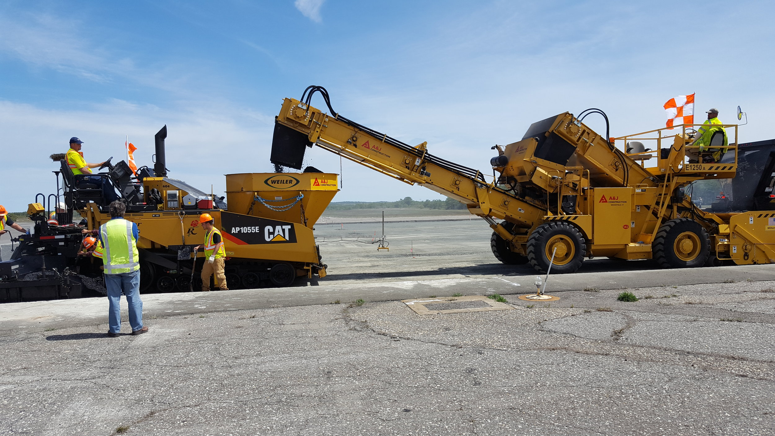 A & J Construction   2015 & 2016 CT DOT Asphalt Paving Award Winner    Learn More