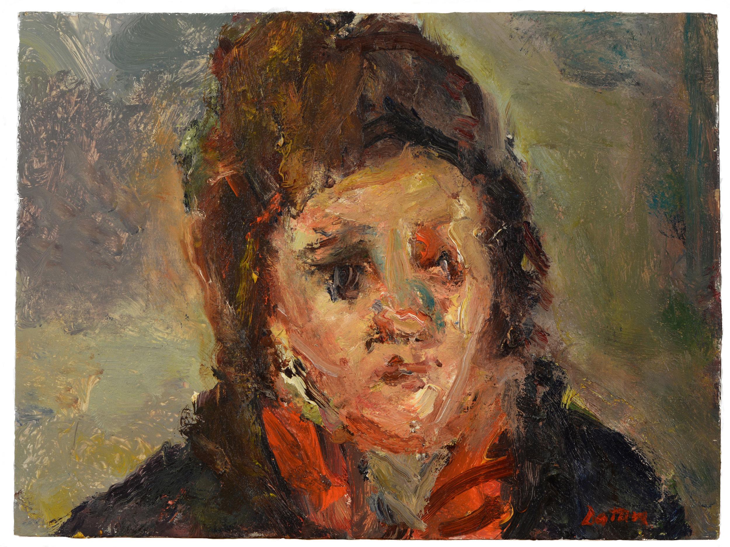 """Patricia"" oil on canvas  2014  12""x16"""