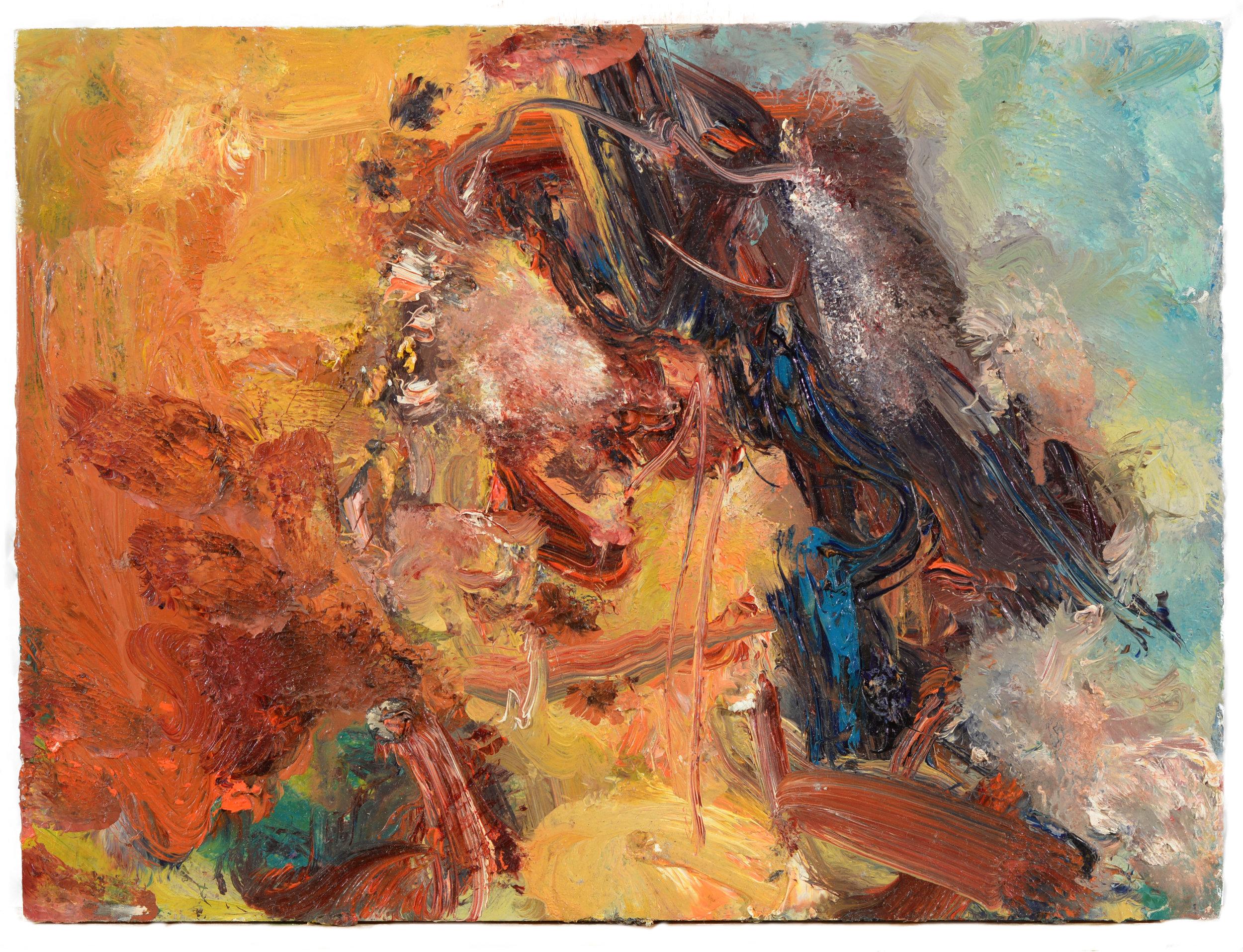 """Patricia"" oil on panel  2011  9""x12"""
