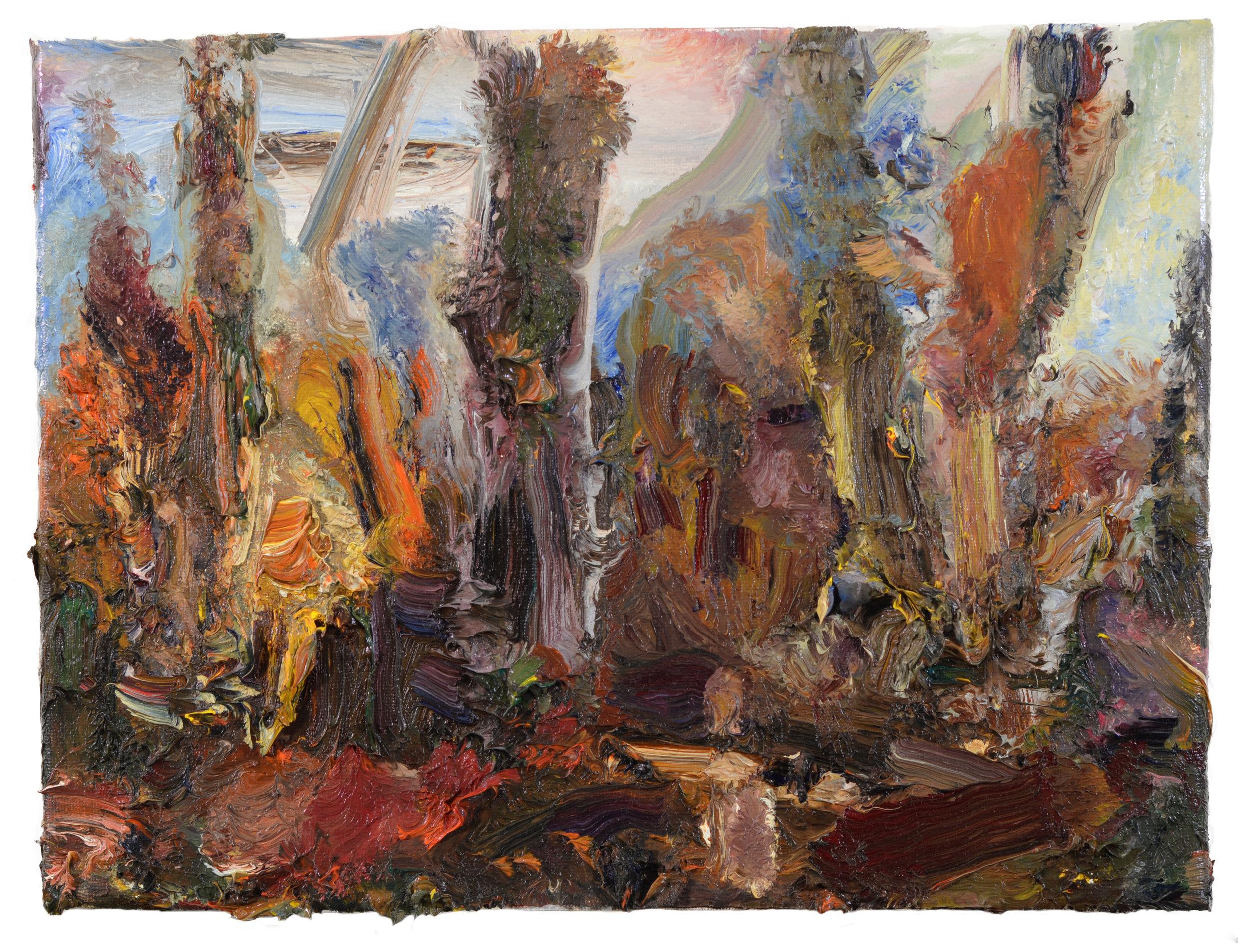 """Bartholomew Preserve"" oil on canvas  2017  11""x14"""