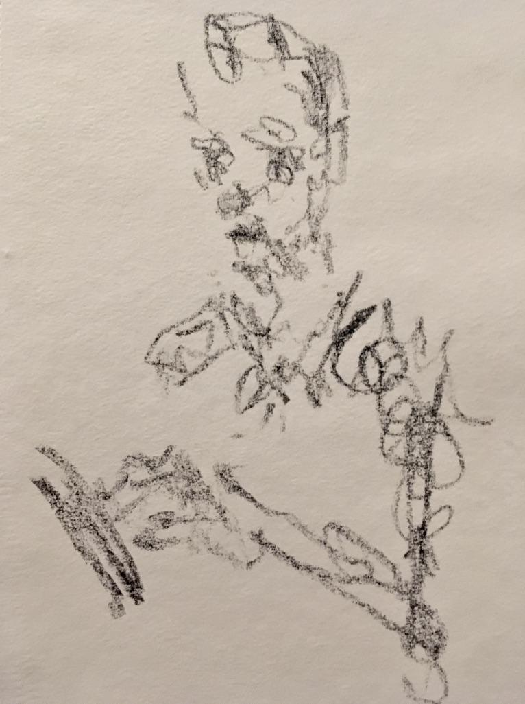 """Self Portrait- Drawing""  2017"