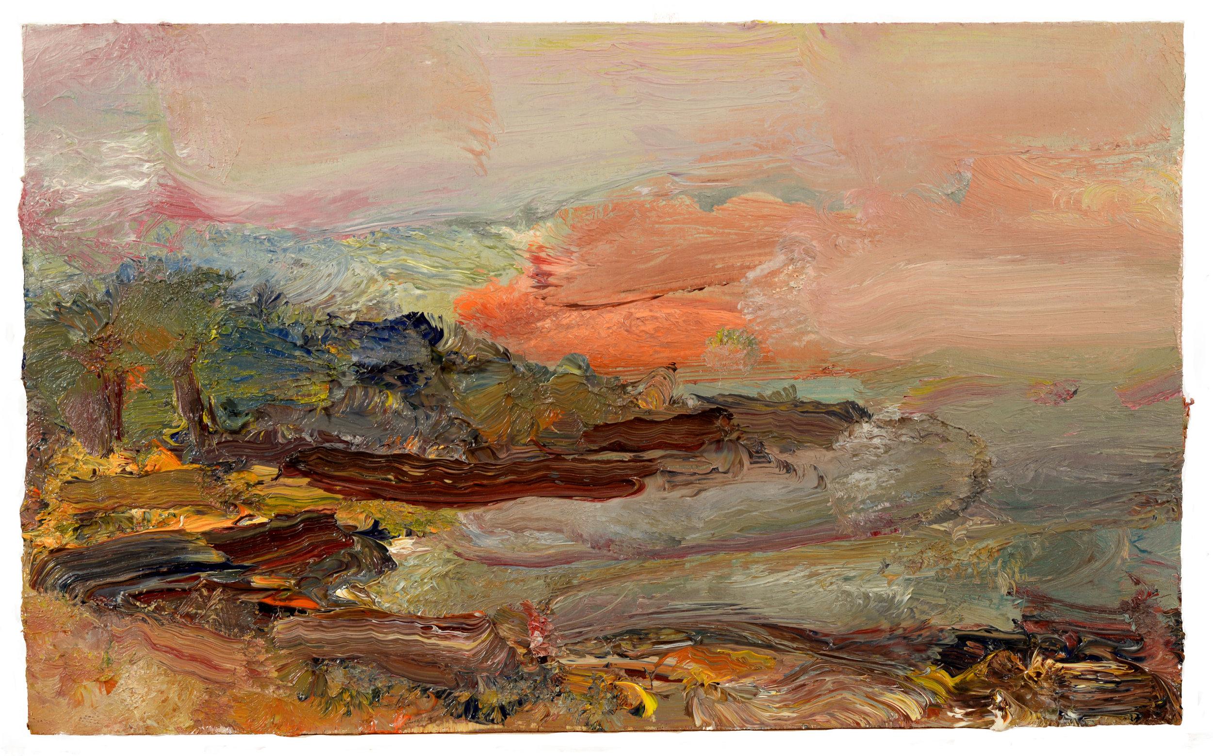 """""""Old Colony Beach"""" oil on canvas  2017"""