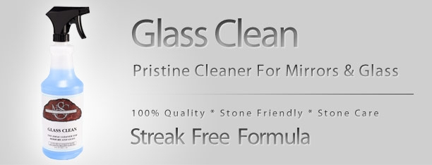 GLASS CLEAN  The ideal cleaner for mirrors and glass. Leaves no film behind for a beautiful streak-free shine  WHERE TO USE  Safe for use on glass, mirrors, windows, windshields, appliances, chromes, stainless steel, and aluminum. Not recommended for finished wood surfaces.  DIRECTIONS  Wipe with a paper towel or lint-free cloth. For best results, change cleaning towel frequently. For safe use, unplug electrical appliances before using.
