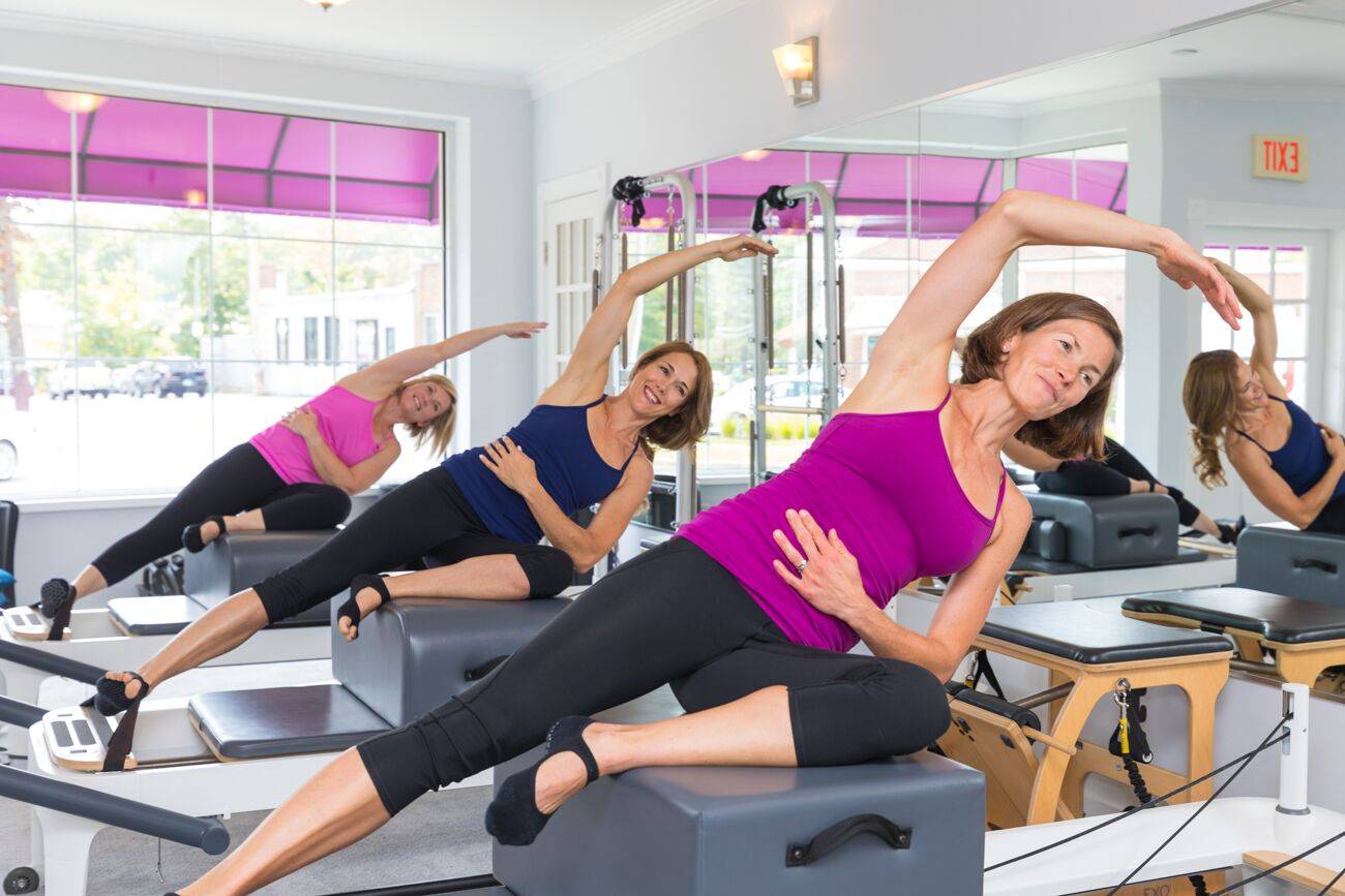 Small Classes  - and personalized attention is part of our hallmark. We work to make you feel confident and safe in your exercise protocol and are invested in helping you achieve your fitness goals whether you are training alone or in a larger group. The Pilates Barre is a beautiful studio with natural light, state-of-the-art equipment and a warm and welcoming environment situated in the heart of Ridgefield.