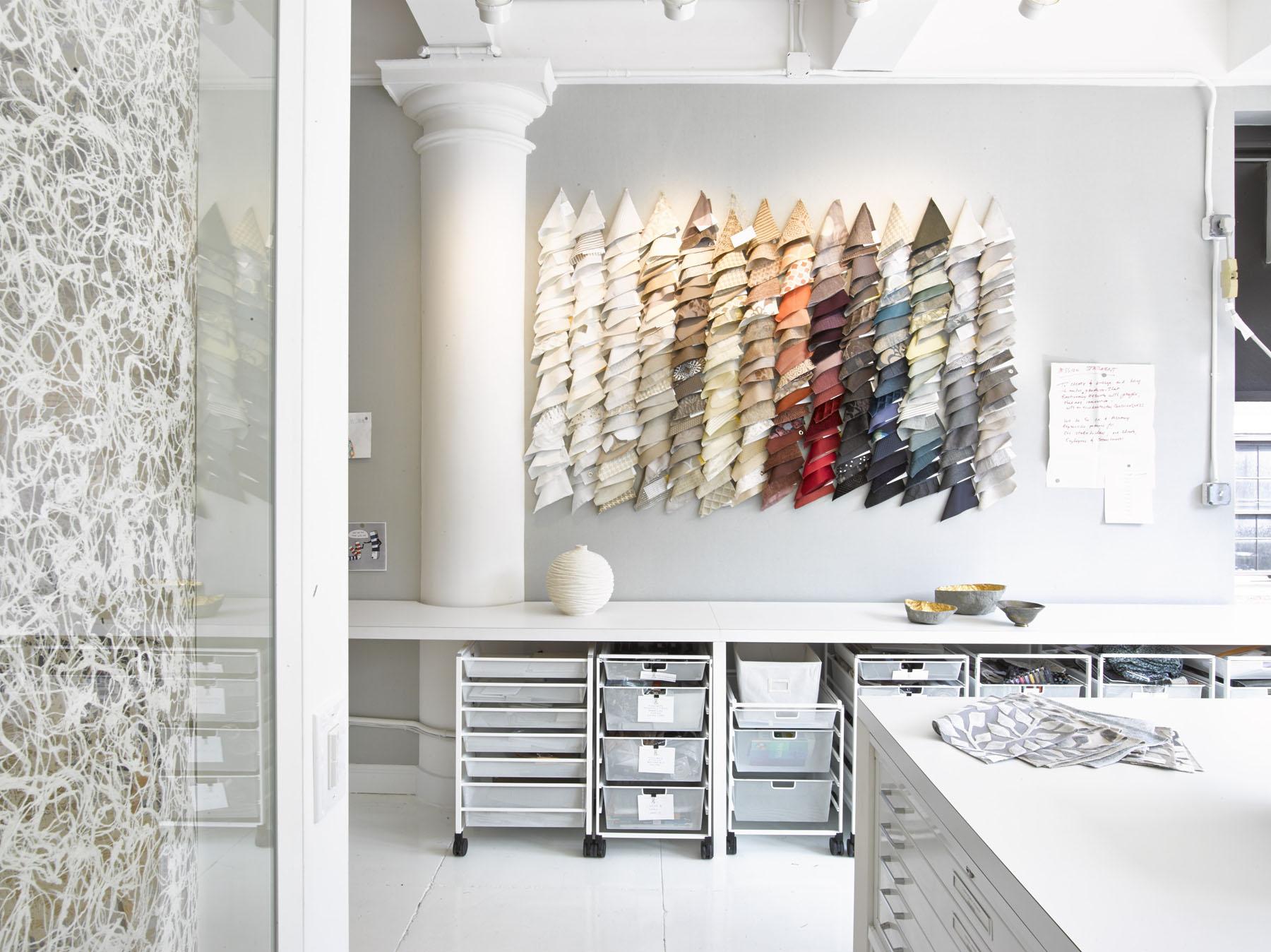 The Lori Weitzner Design Studio. Photo by Garrett Rowland