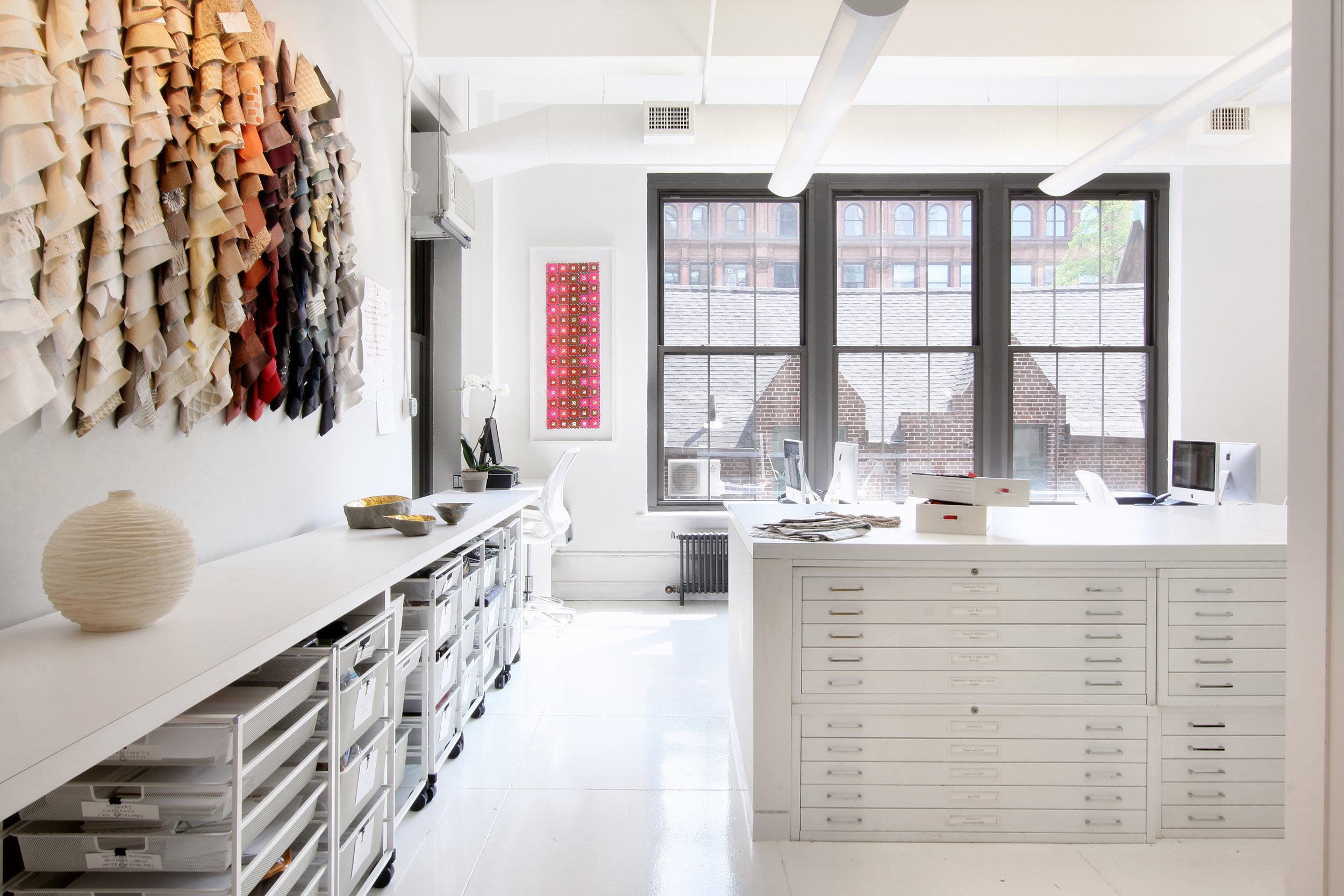 Lori Weitzner Design Studio; Zimmerman Workshop, photo by Garett Rowland