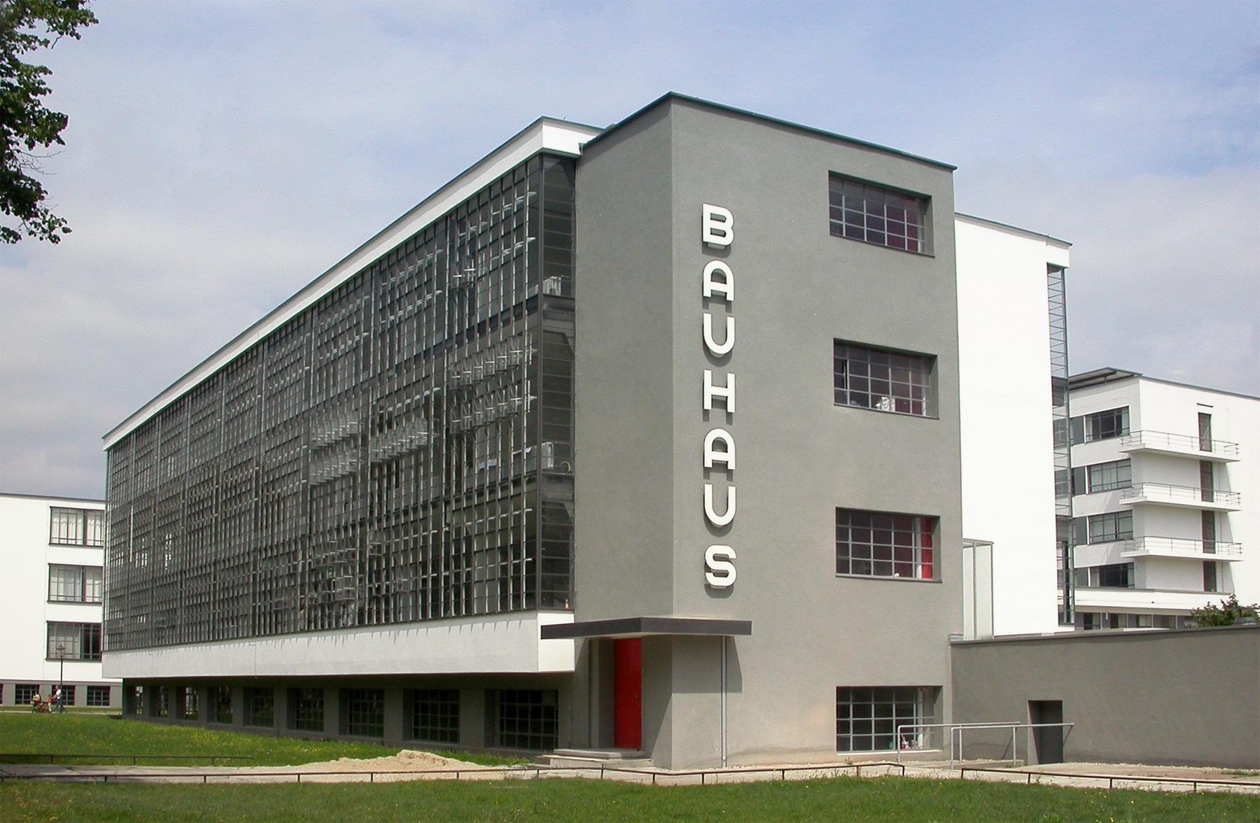 The Bauhaus in Dessau, Germany