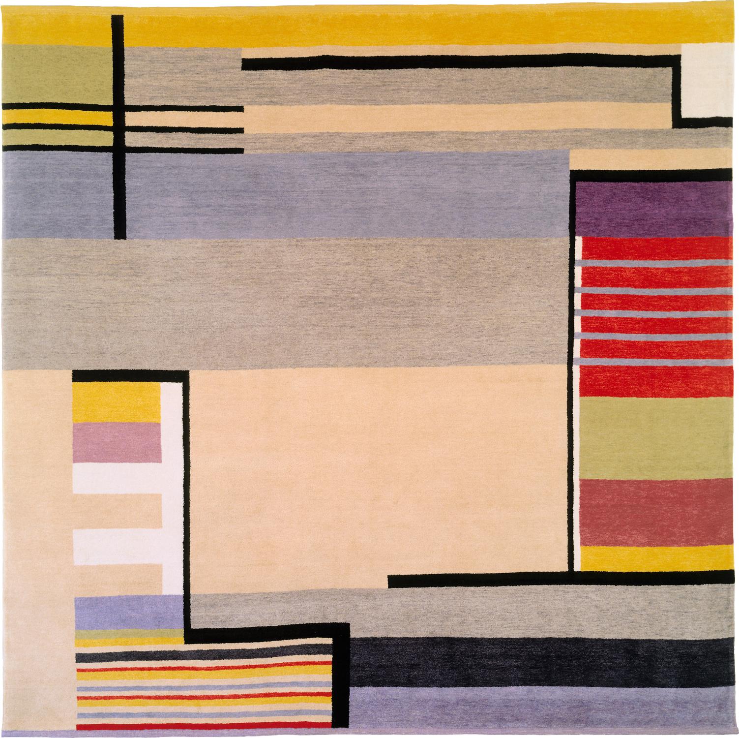 Rug from Gunta Stölzl, Untitled, 1928