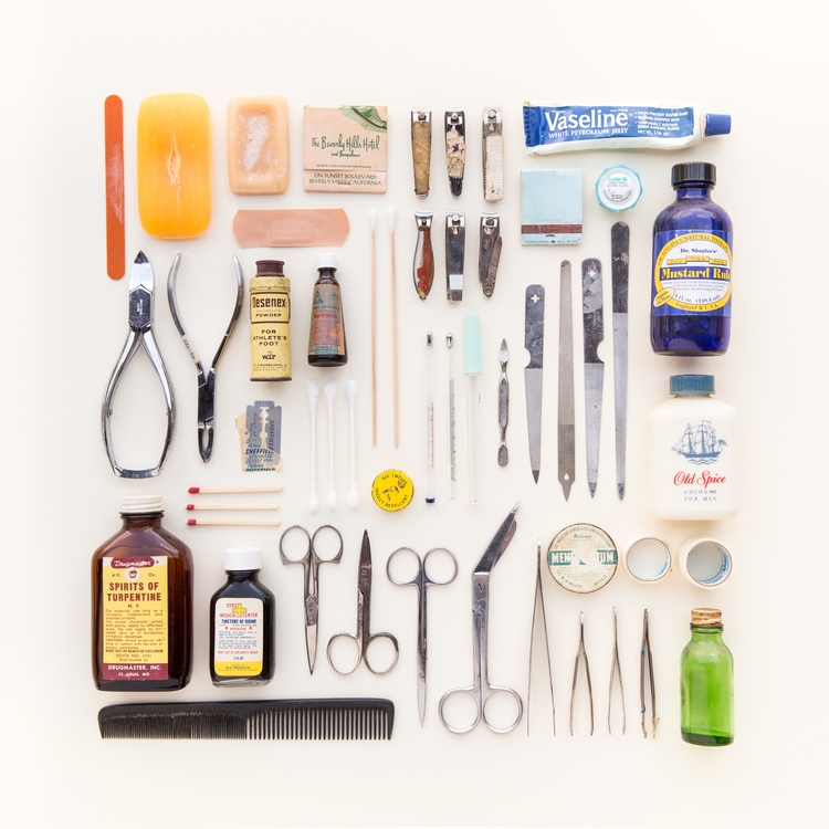 Barbers' tools, Emily Blincoe