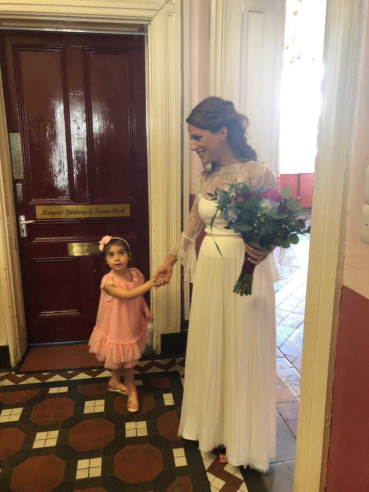 After Italy, we took our yearly holiday to the UK; our niece and nephews beautiful wedding in England - I wish there were more weddings to go to! They are so joyful!
