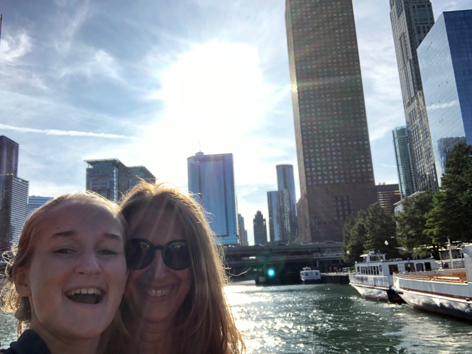A snap from last weekend's trip to Chicago for my daughter Sophie's birthday!