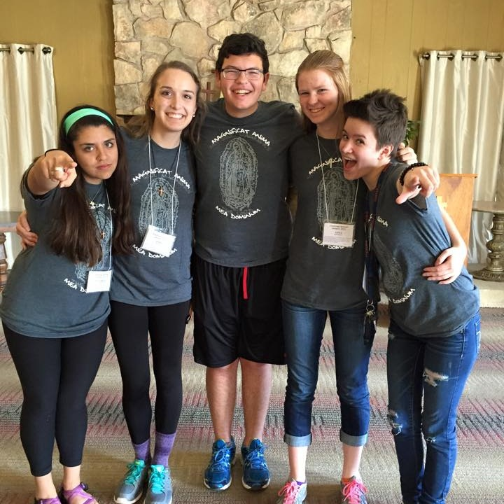 This photo of the talk staff at Challenge retreat 2015 is during Anna Donnelly's senior year of high school.