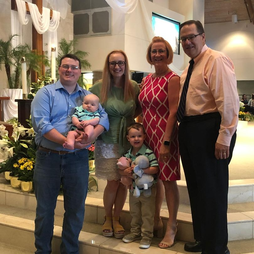Easter 2019: Chaillie, Andrew, Fletcher and Bennett